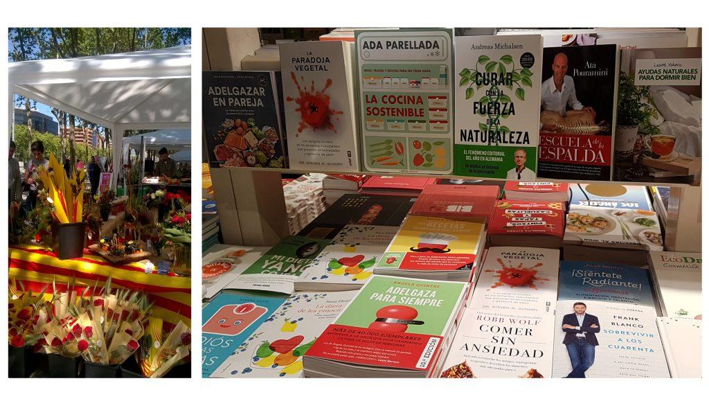 Libros para una vida más sana Sant Jordi