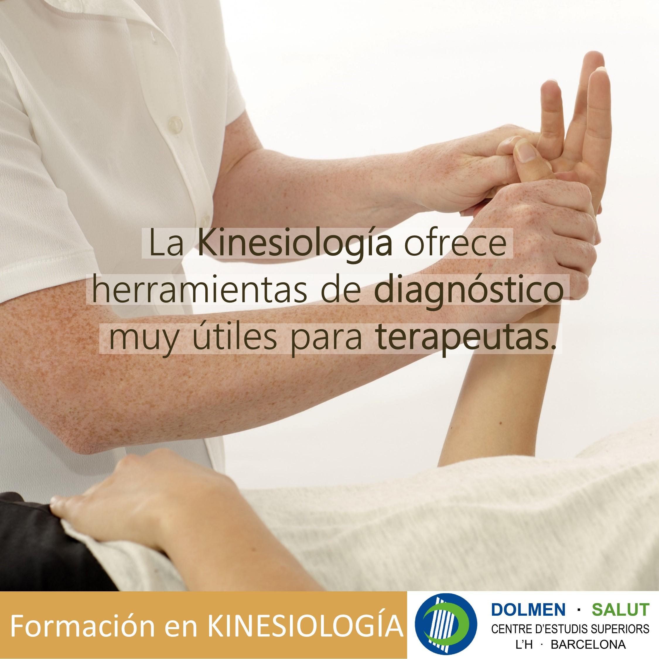 La kinesiología ofrece herramientas de diagnóstico muy útiles para terapeutas