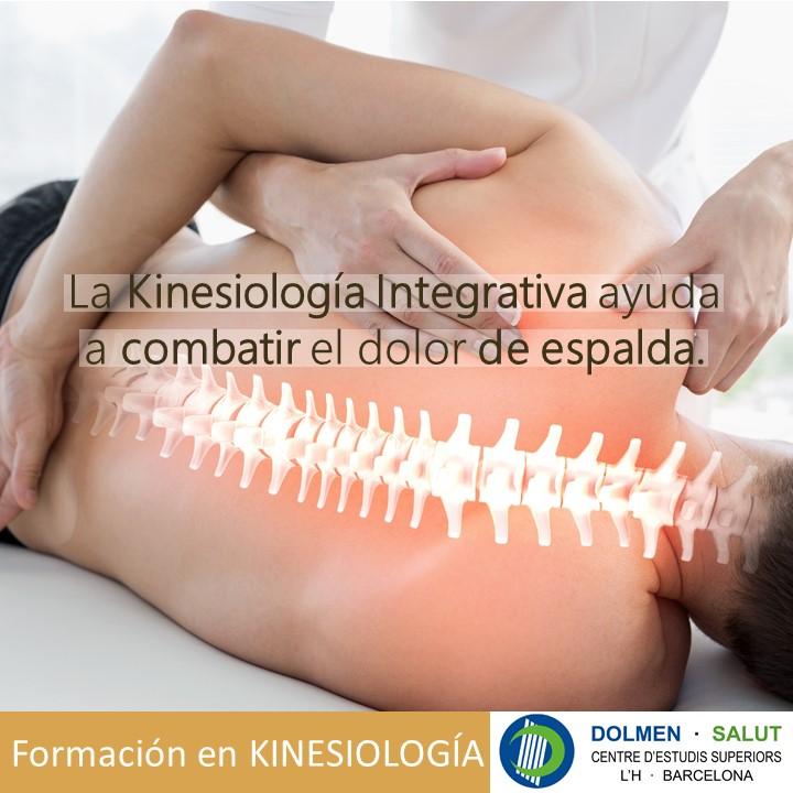La Kinesiología Integrativa ayuda a combatir el dolor de espalda.
